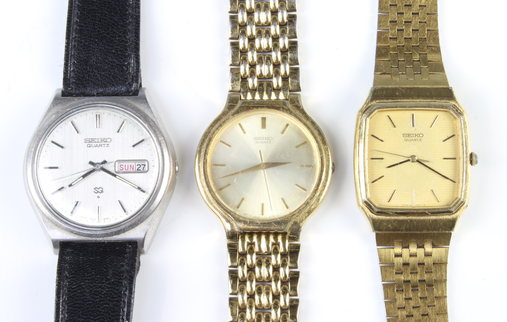 A quantity of gentleman's Seiko wristwatches - Image 2 of 4