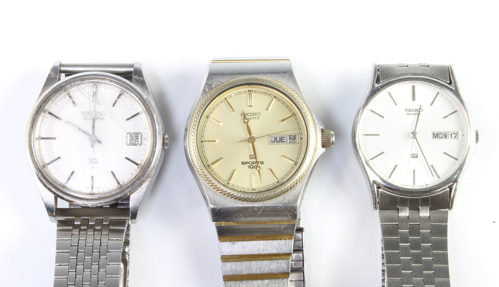 A quantity of gentleman's Seiko wristwatches - Image 4 of 4