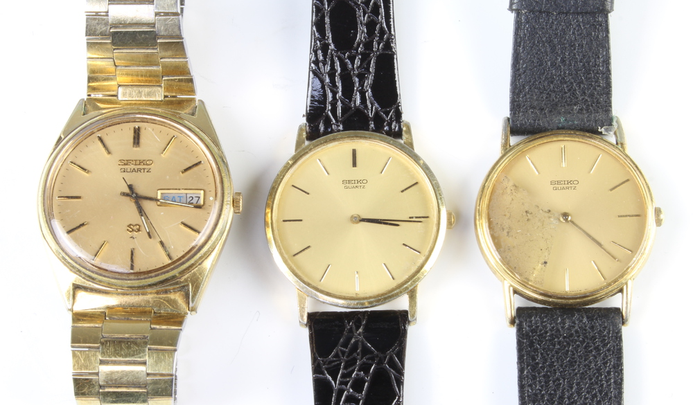 A quantity of gentleman's Seiko wristwatches - Image 3 of 4