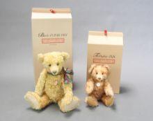 A Steiff Bearle 43 PAB 1904 teddybear 43cm, boxed, together with a 1926 reproduction bear boxed (
