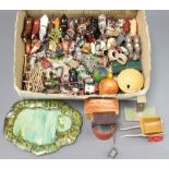 A large collection of John Hill & Co ( Johillco ) and others farm lead and diecast figure. To
