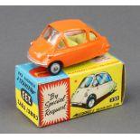 Corgi Dinky Toys, a No. 233 Heinkel economy car - boxed