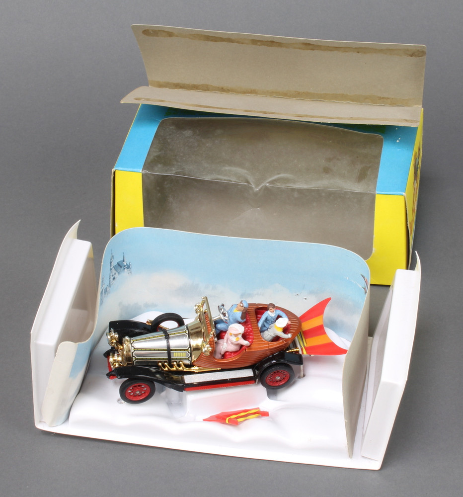 Corgi, a boxed 'Chitty Chitty Bang Bang' car 266 complete with all characters, plastic insert tray