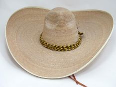 Mexican Sombrero hat Please Note - we do not make reference to the condition of lots within