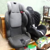 An iSafe car seat together with Kinderkraft child's seat (2) Please Note - we do not make