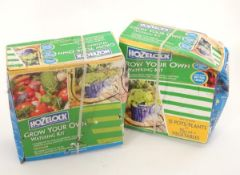Two Hozelock 'Grow your Own' watering kits Please Note - we do not make reference to the condition