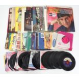 A quantity of 1960s records, LPs etc. to include Hank Williams, The Beach Boys, Frank Ifield,
