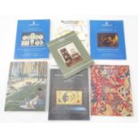A quantity of Christies, Phillips and Sotheby's auction catalogues Please Note - we do not make
