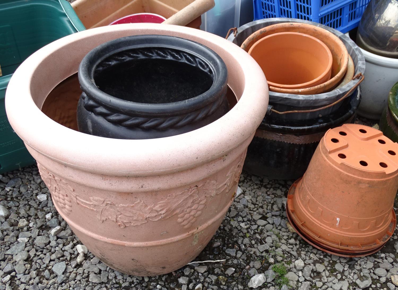 A quantity of propagators, planters, buckets, flower pots etc. Please Note - we do not make - Image 5 of 5