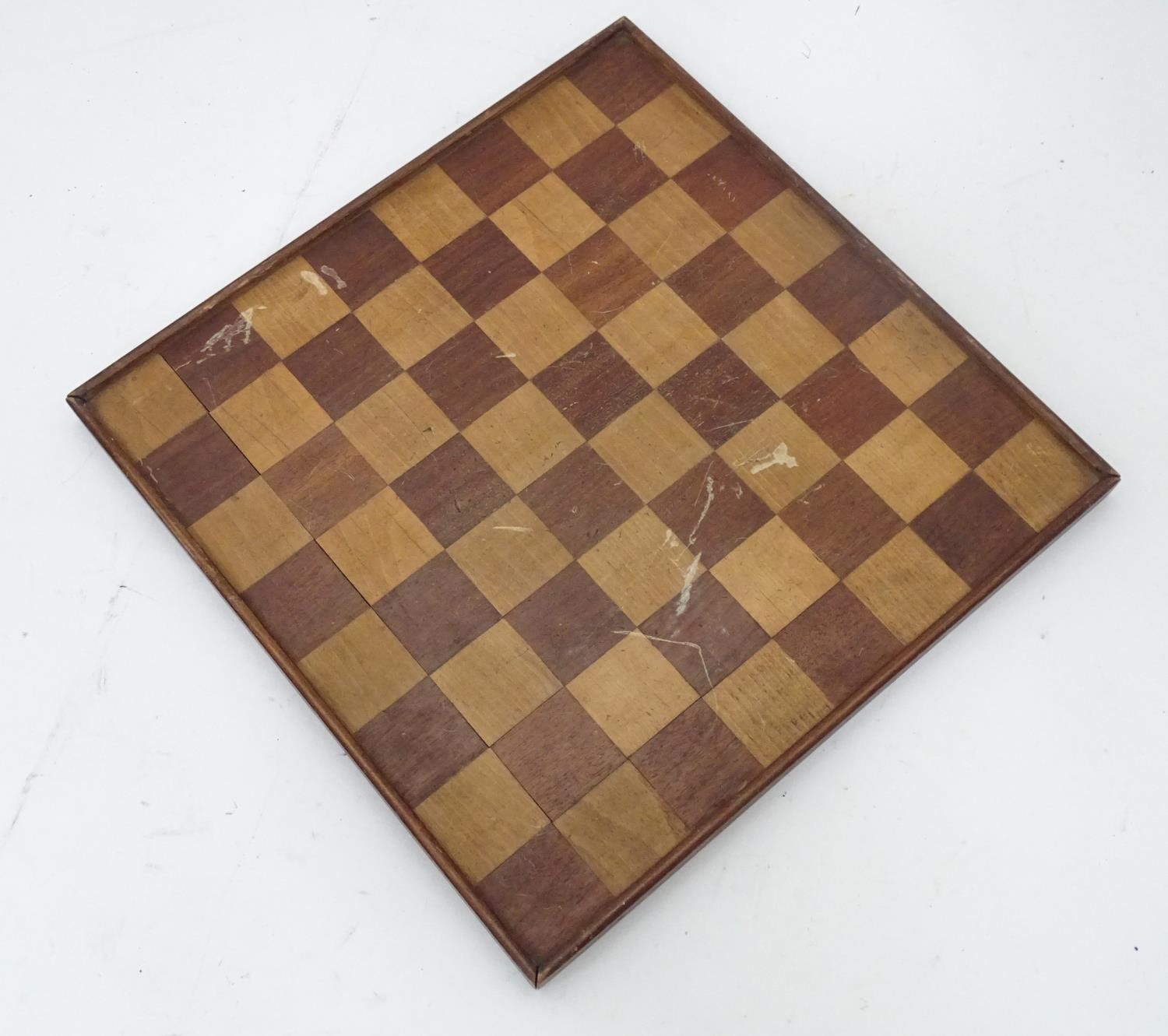 A games / chess board Please Note - we do not make reference to the condition of lots within - Image 2 of 3