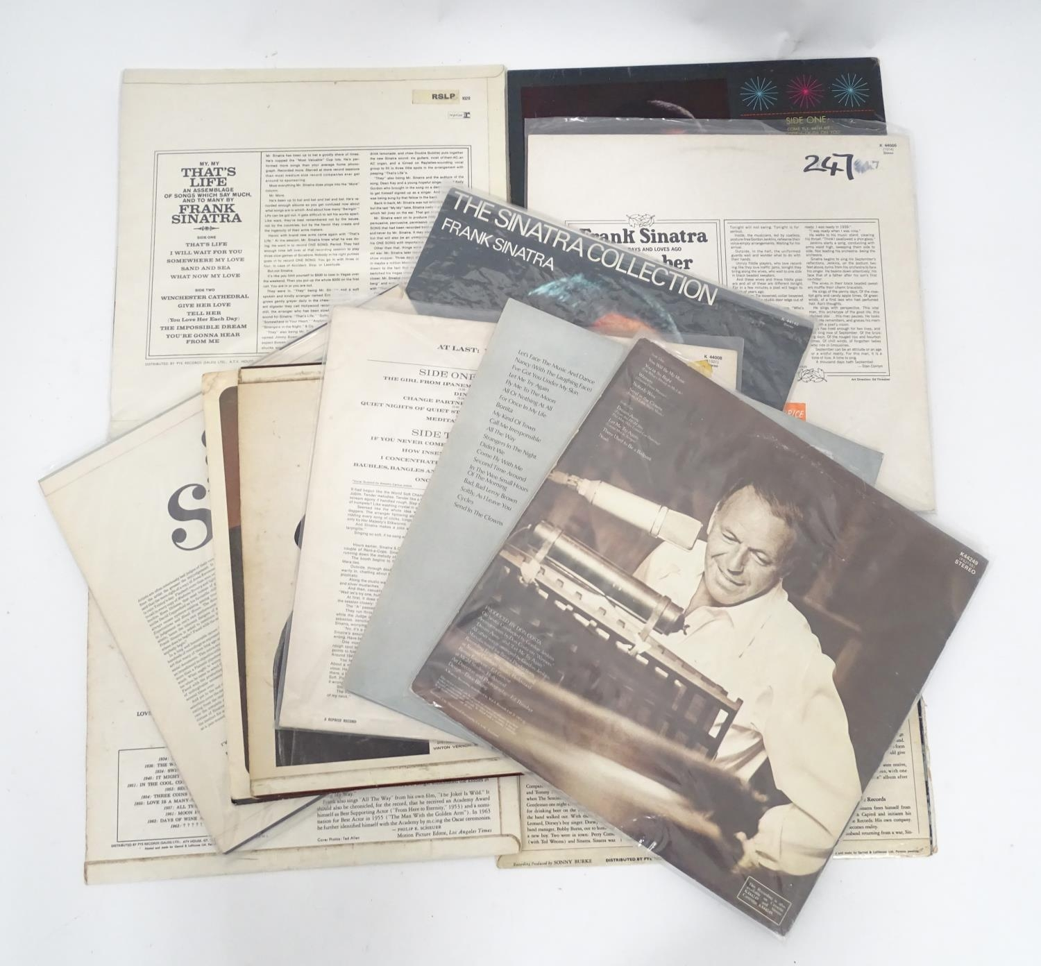 A quantity of Frank Sinatra LP vinyl records Please Note - we do not make reference to the condition - Image 2 of 7