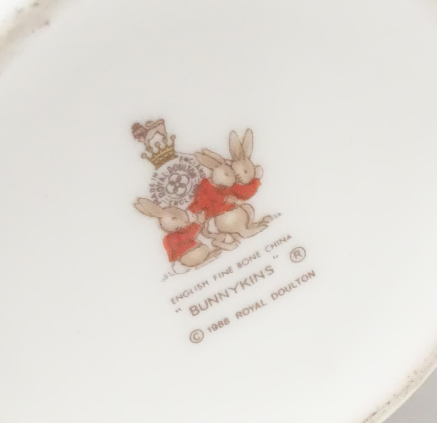 A quantity of Beatrix Potter ceramics, Bunnykins etc. Please Note - we do not make reference to - Image 8 of 9