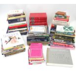 A quantity of assorted books to include Of Old Farm Tools, Shire Album, What Wood is That?,