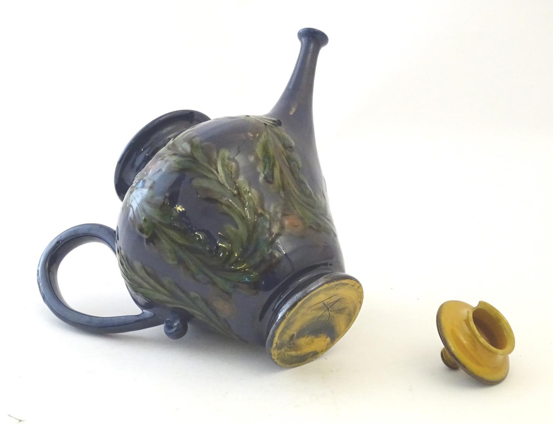 A quantity of Kahler Keramik Danish studio pottery tea wares, comprising a teapot and four cups - Image 30 of 30
