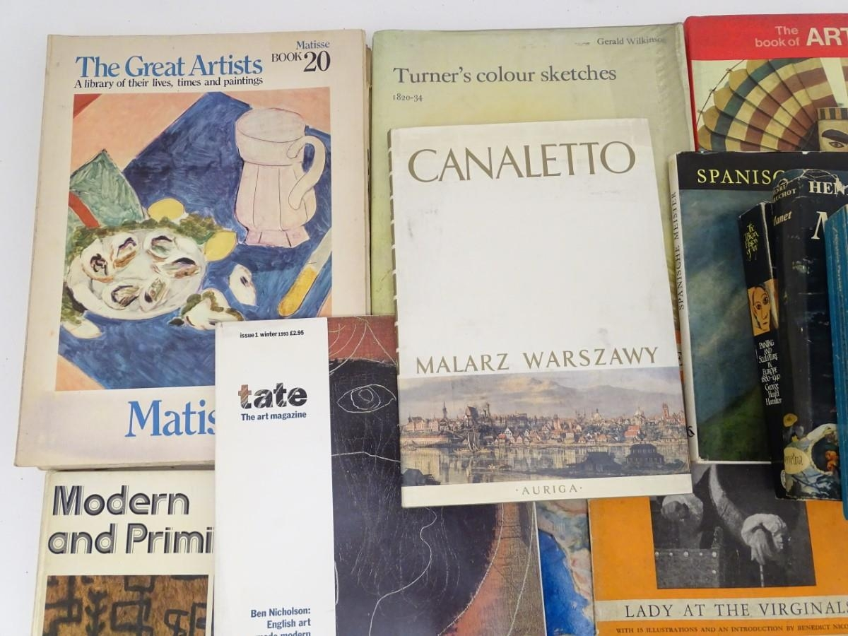 Books: A quantity of books on the subject of art. Titles to include The Art of the West, Henri - Image 7 of 7