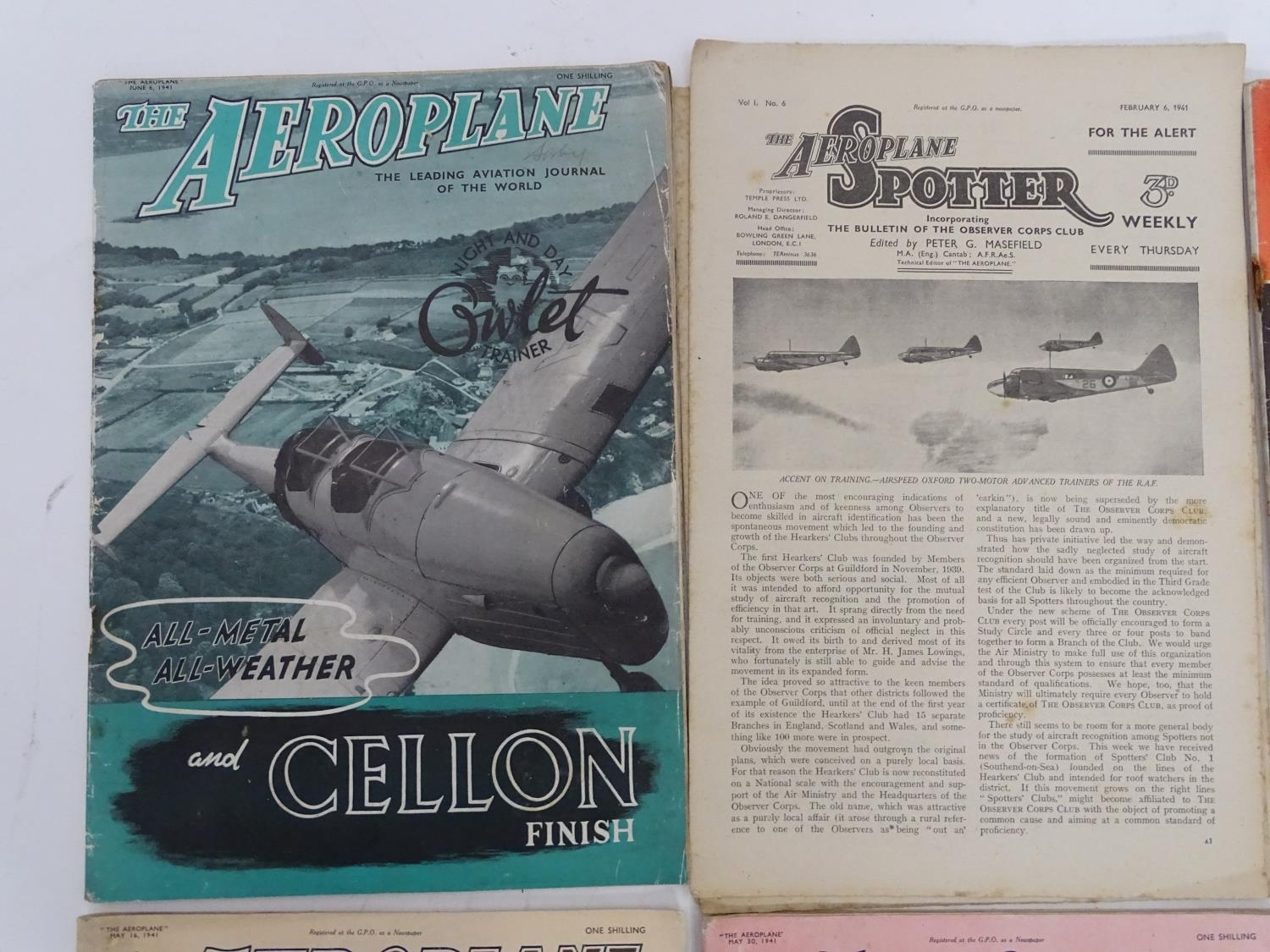 A quantity of 1941 copies of The Aeroplane Spotter magazine and The Aeroplane (8) Please Note - we - Image 6 of 12