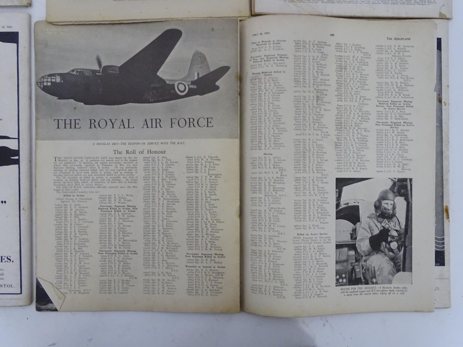 A quantity of 1941 copies of The Aeroplane Spotter magazine and The Aeroplane (8) Please Note - we - Image 12 of 12