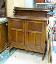 An early 20thC sideboard Please Note - we do not make reference to the condition of lots within