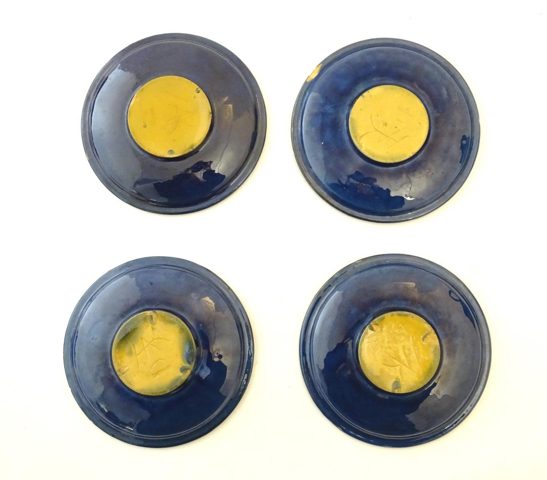 A quantity of Kahler Keramik Danish studio pottery tea wares, comprising a teapot and four cups - Image 20 of 30