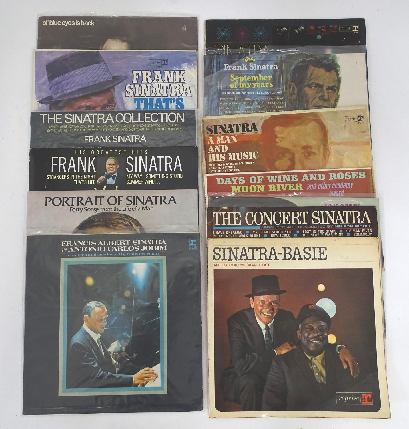 A quantity of Frank Sinatra LP vinyl records Please Note - we do not make reference to the condition - Image 3 of 7