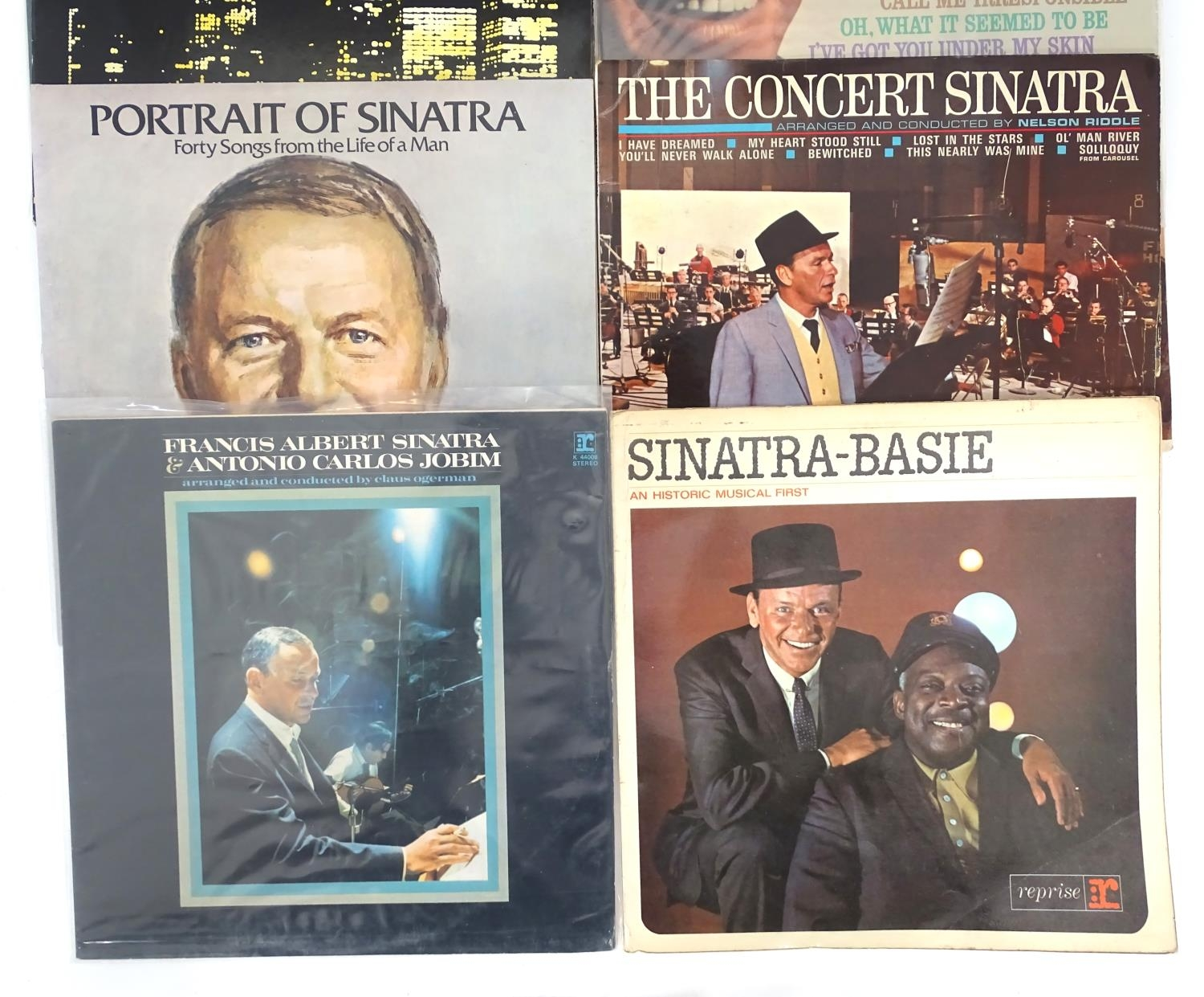 A quantity of Frank Sinatra LP vinyl records Please Note - we do not make reference to the condition - Image 4 of 7