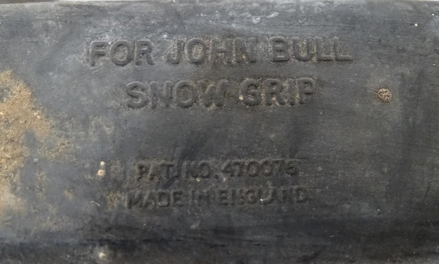 Three pairs of straps, marked For John Ball Snow Grip, Made in England. Please Note - we do not make - Image 2 of 5