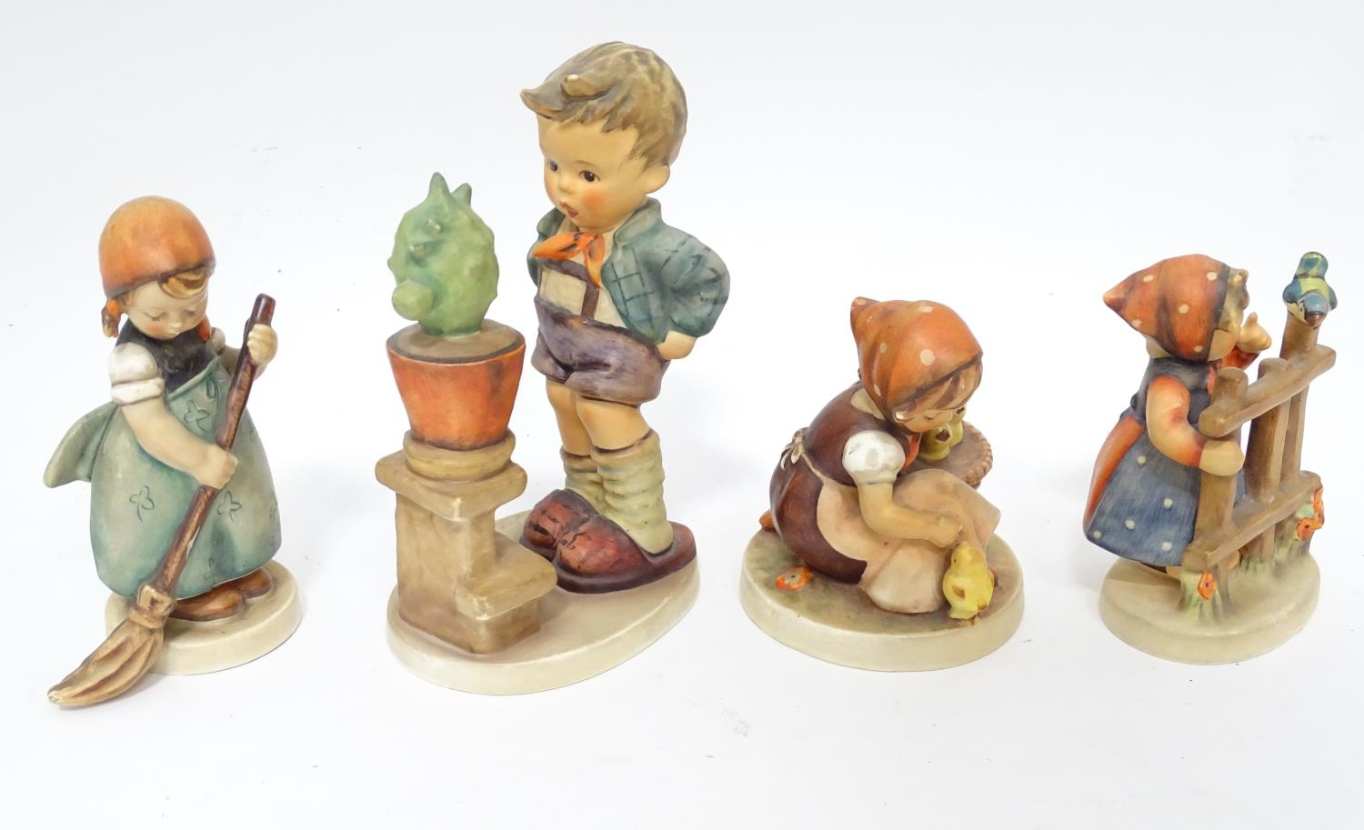 Four Hummel / Goebel figures Please Note - we do not make reference to the condition of lots - Image 3 of 6