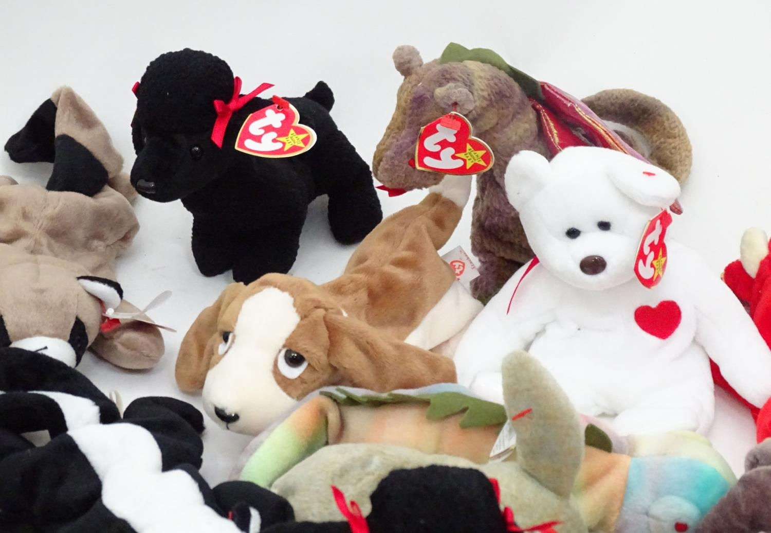 A quantity of TY Beanie Babies Please Note - we do not make reference to the condition of lots - Image 3 of 9