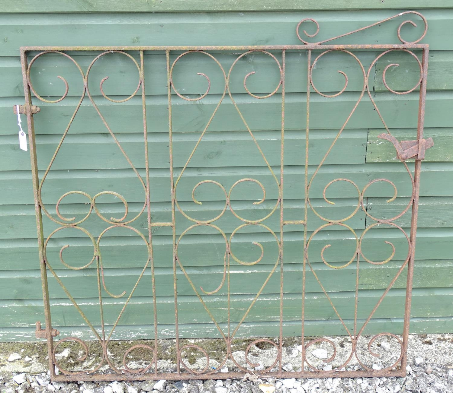 A wrought iron gate Please Note - we do not make reference to the condition of lots within - Image 3 of 4
