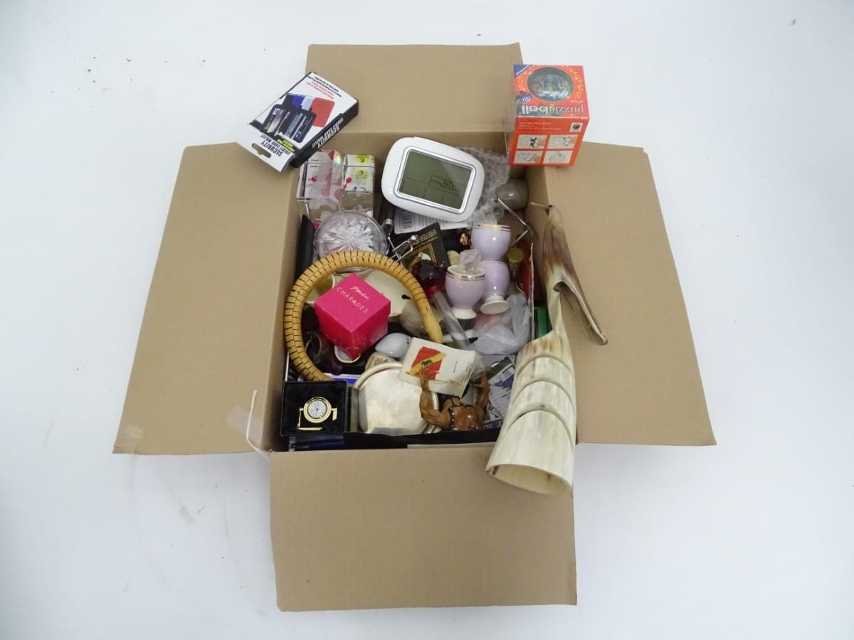 A box of miscellaneous Please Note - we do not make reference to the condition of lots within