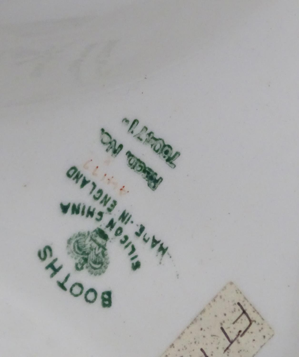 A quantity of assorted Booths china patterns to include Old Staffordshire, Flowerpiece, - Image 6 of 14