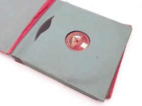 An album of 78rpm LP's Please Note - we do not make reference to the condition of lots within