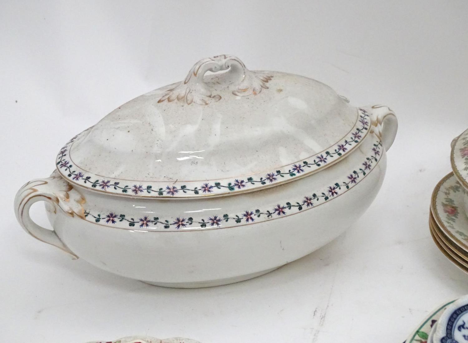 A quantity of assorted Booths china patterns to include Old Staffordshire, Flowerpiece, - Image 8 of 14