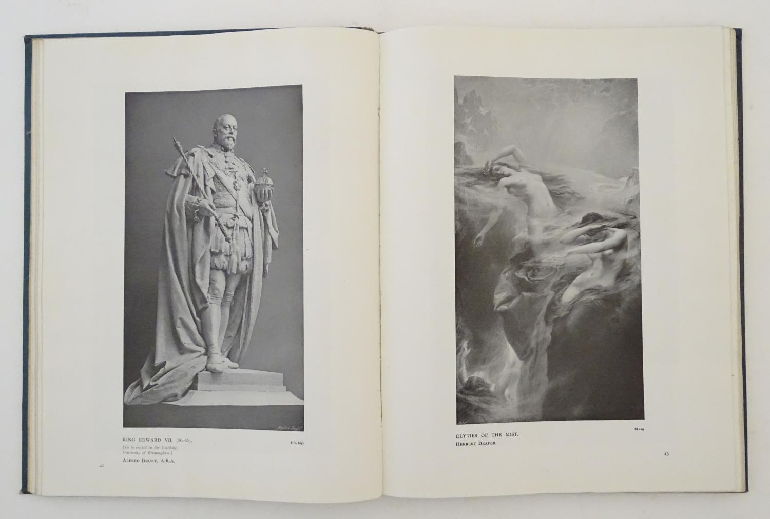Book: Royal Academy Pictures and Sculpture 1912, illustrating the 144th exhibition of the Royal - Image 3 of 8