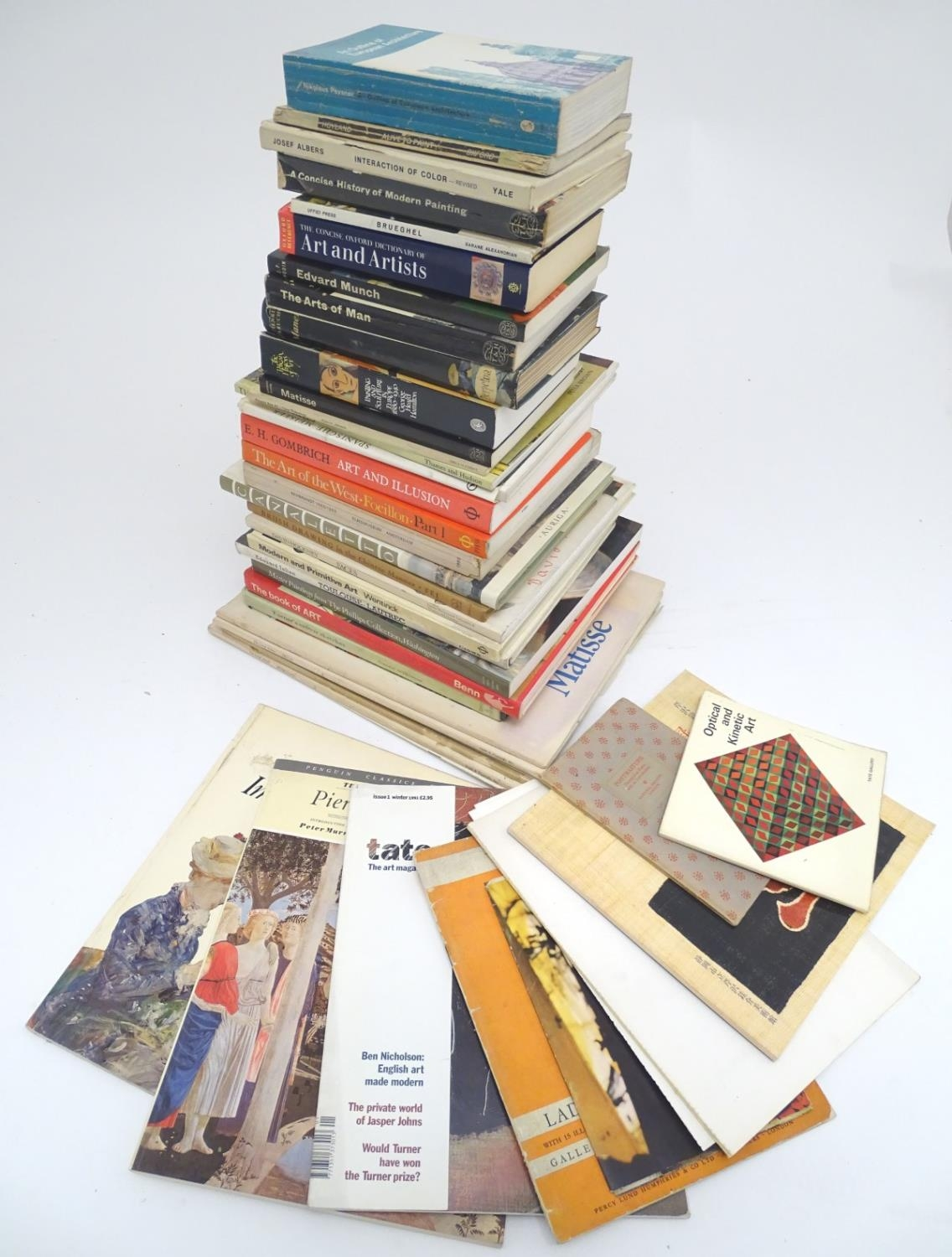Books: A quantity of books on the subject of art. Titles to include The Art of the West, Henri