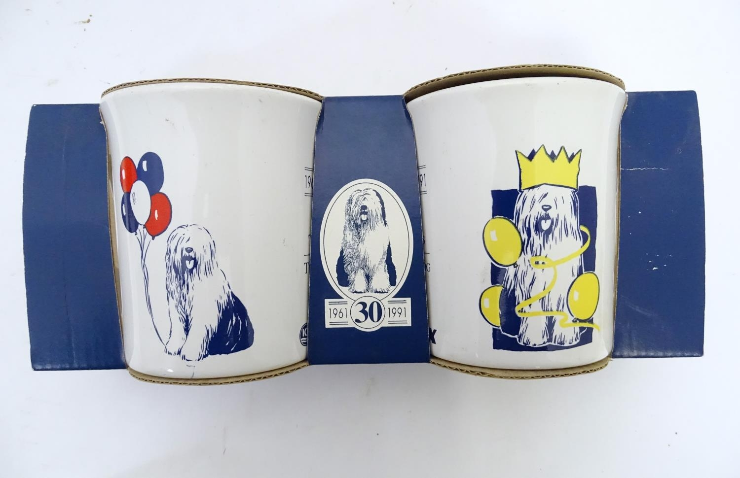 A quantity of assorted ceramic items to include biscuit barrel formed as a dog, two boxed Ansley - Image 2 of 6