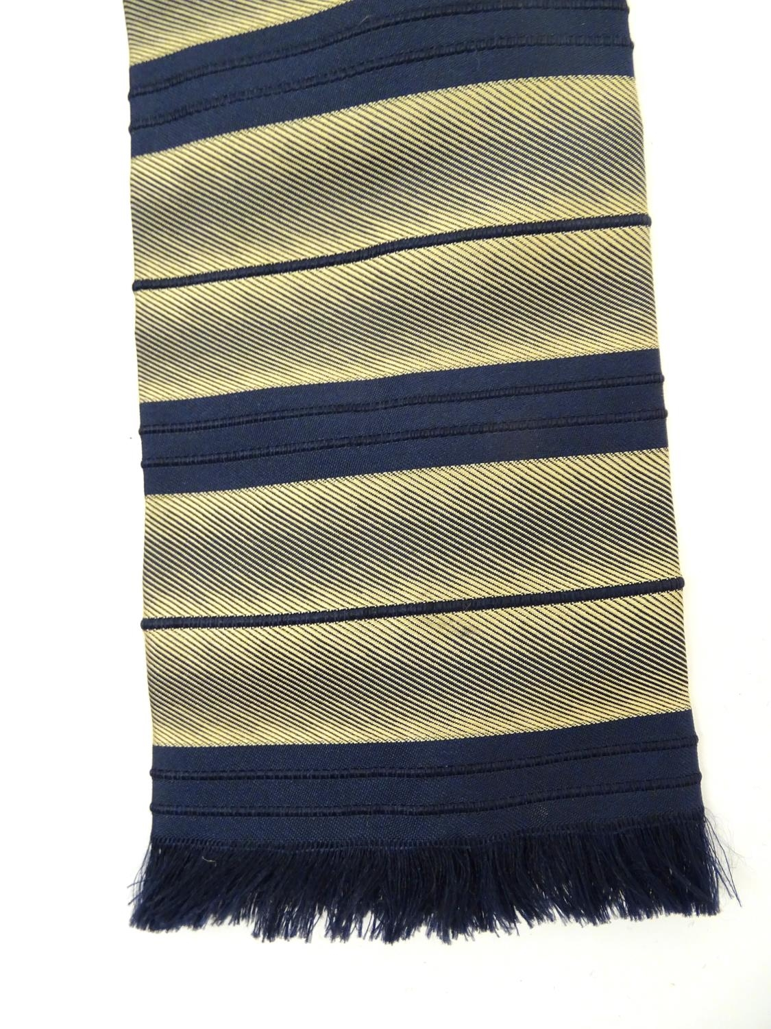 Vintage clothing/ fashion: 6 silk ties in various colours and patterns by Yves Saint Laurent, Nicole - Image 6 of 10