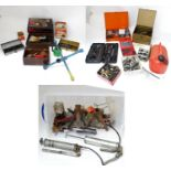 A quantity of mechanics tools and parts Please Note - we do not make reference to the condition of
