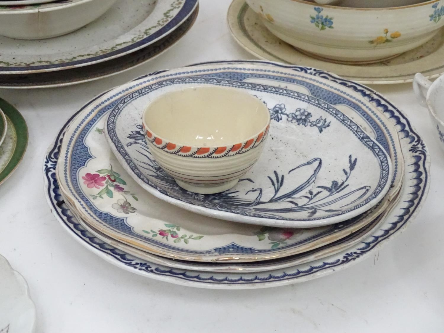 A quantity of assorted Booths china patterns to include Old Staffordshire, Flowerpiece, - Image 9 of 14