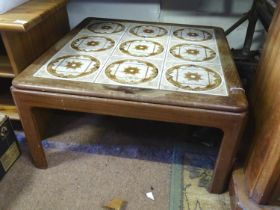 A 20thC square G-Plan coffee table Please Note - we do not make reference to the condition of lots