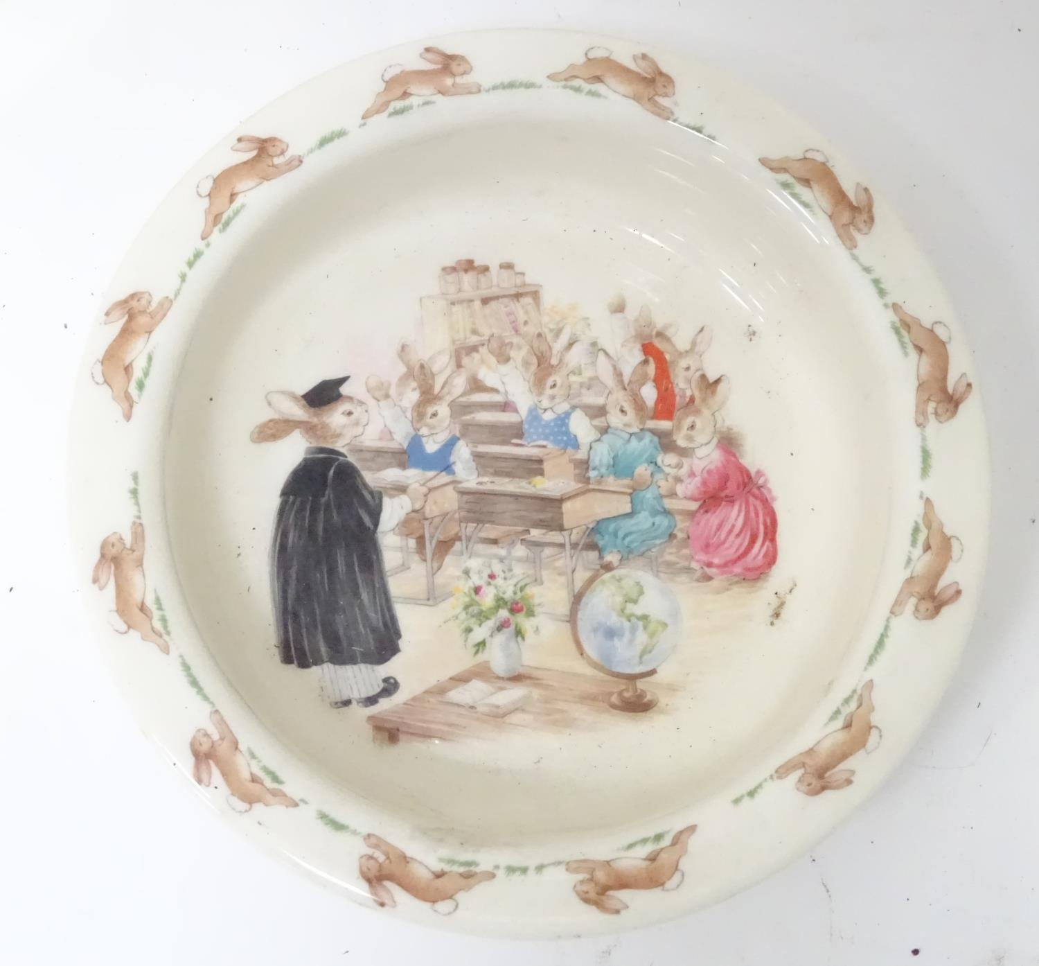 A quantity of Beatrix Potter ceramics, Bunnykins etc. Please Note - we do not make reference to - Image 3 of 9