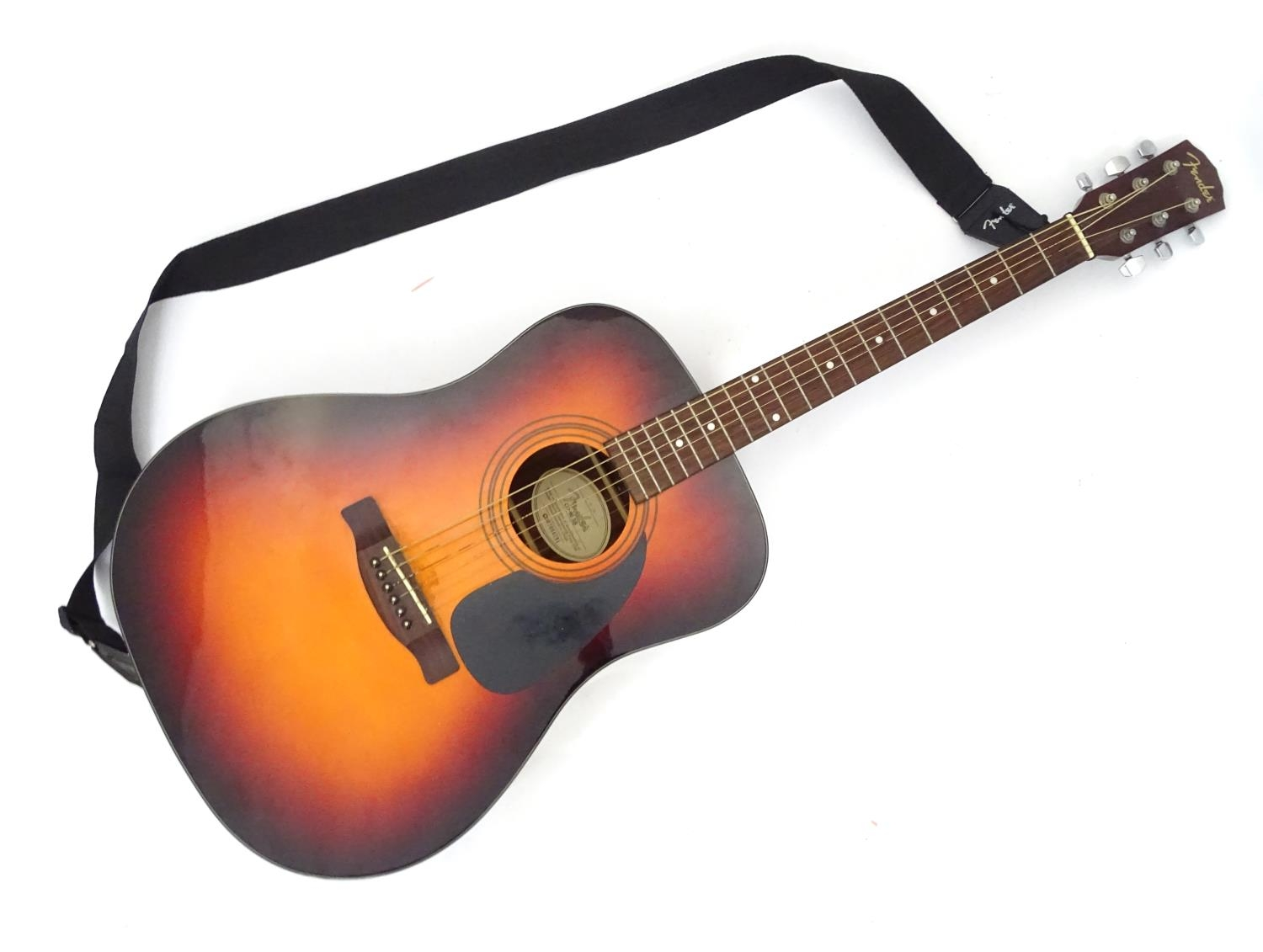 A Fender CD-60 SB acoustic guitar Please Note - we do not make reference to the condition of lots