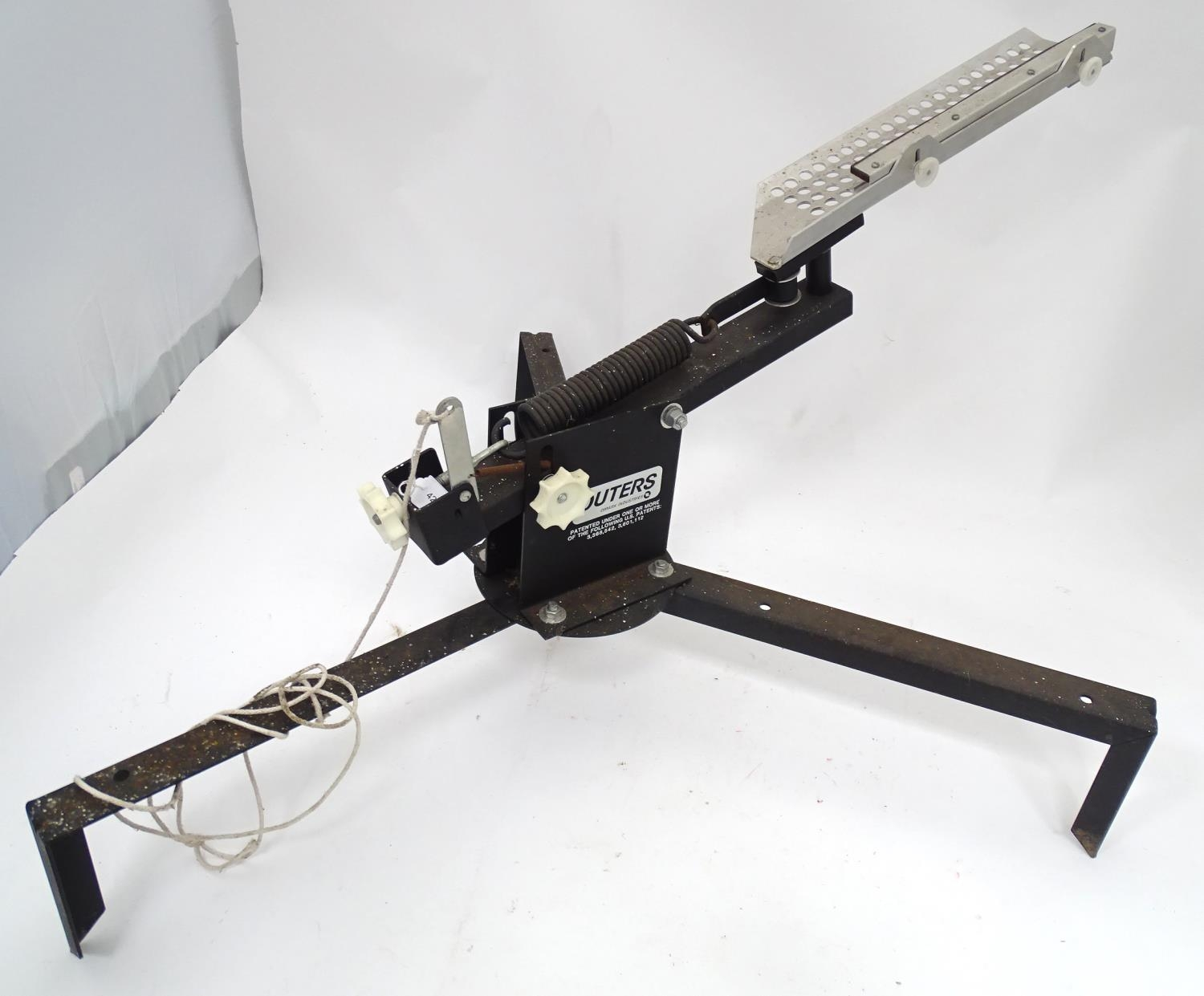 An American clay pigeon trap, maker Outers Please Note - we do not make reference to the condition - Image 2 of 5