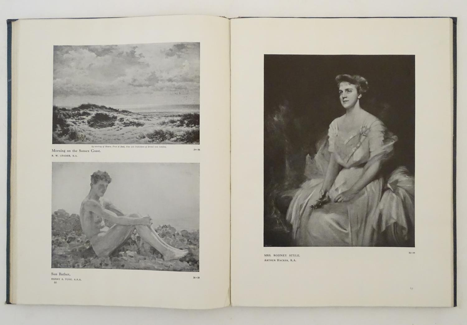 Book: Royal Academy Pictures and Sculpture 1912, illustrating the 144th exhibition of the Royal - Image 6 of 8
