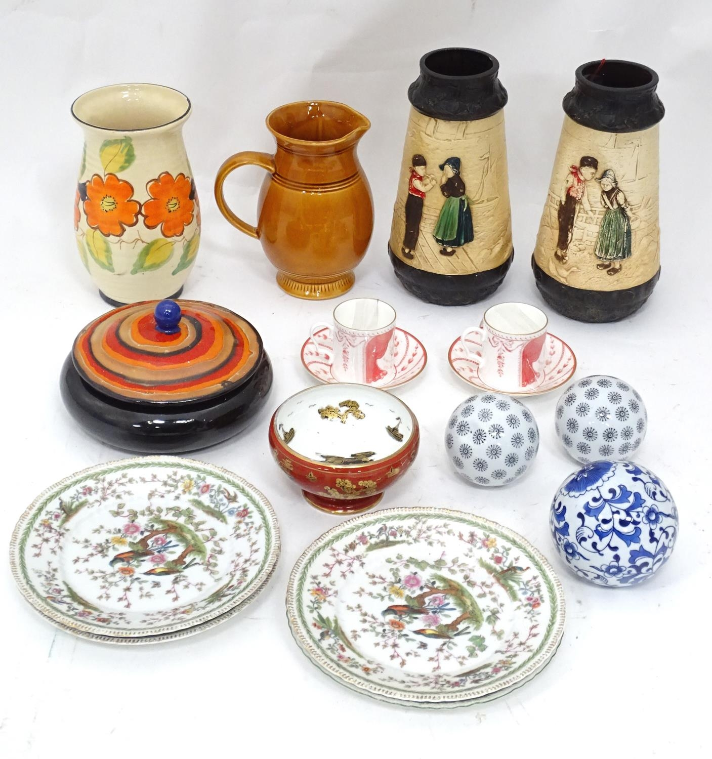 A quantity of assorted ceramics to include a pair of The Royal Opera and The Royal Ballet at - Image 3 of 11