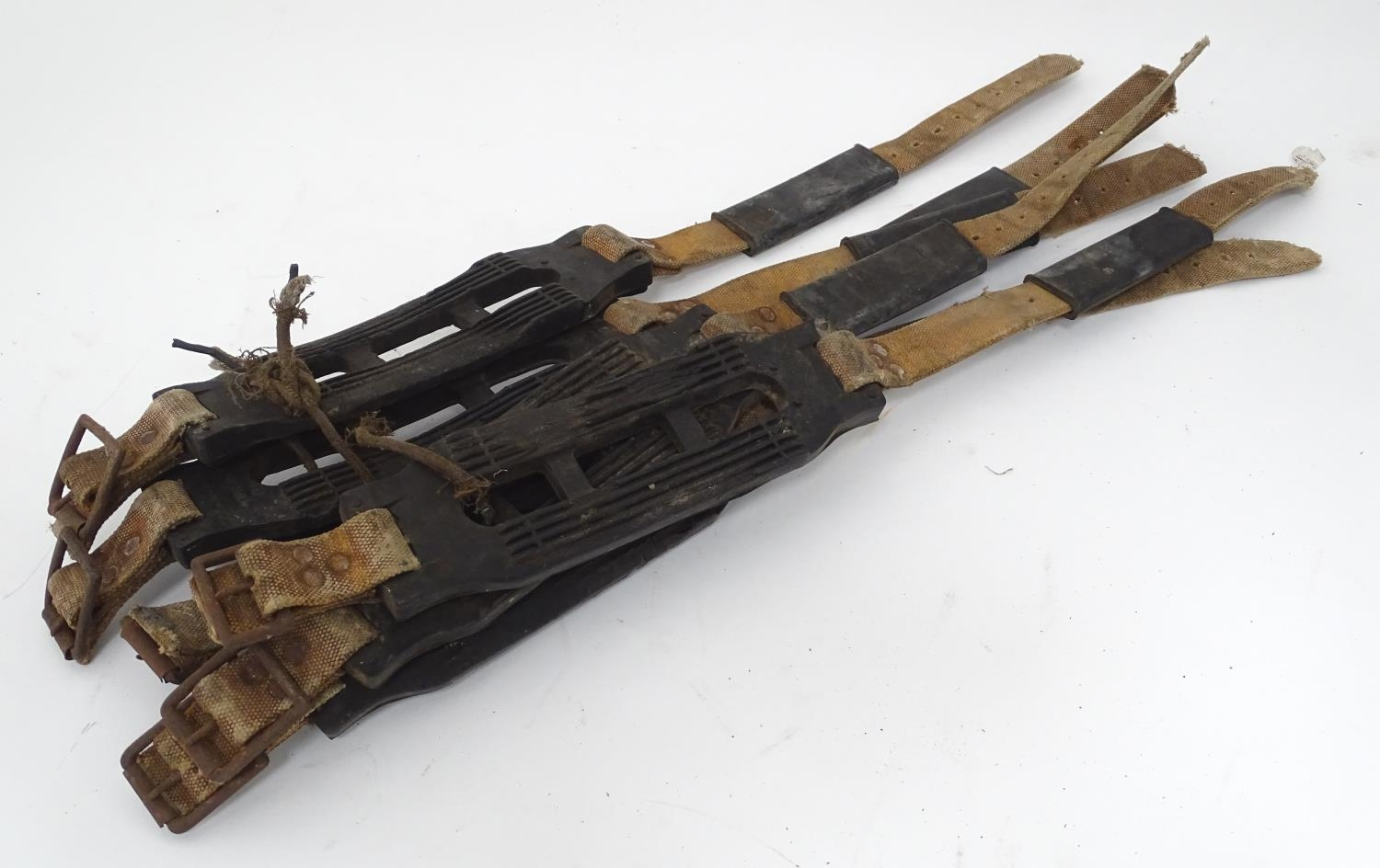 Three pairs of straps, marked For John Ball Snow Grip, Made in England. Please Note - we do not make - Image 3 of 5