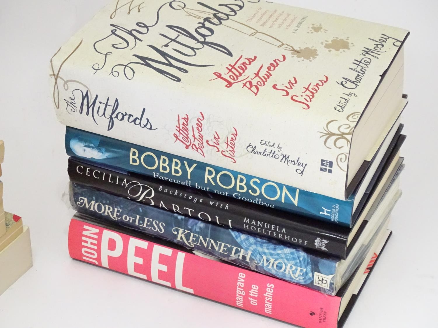 Books: A quantity of biographies and autobiographies to include John Peel, Kenneth Moore, Bobby - Image 2 of 3