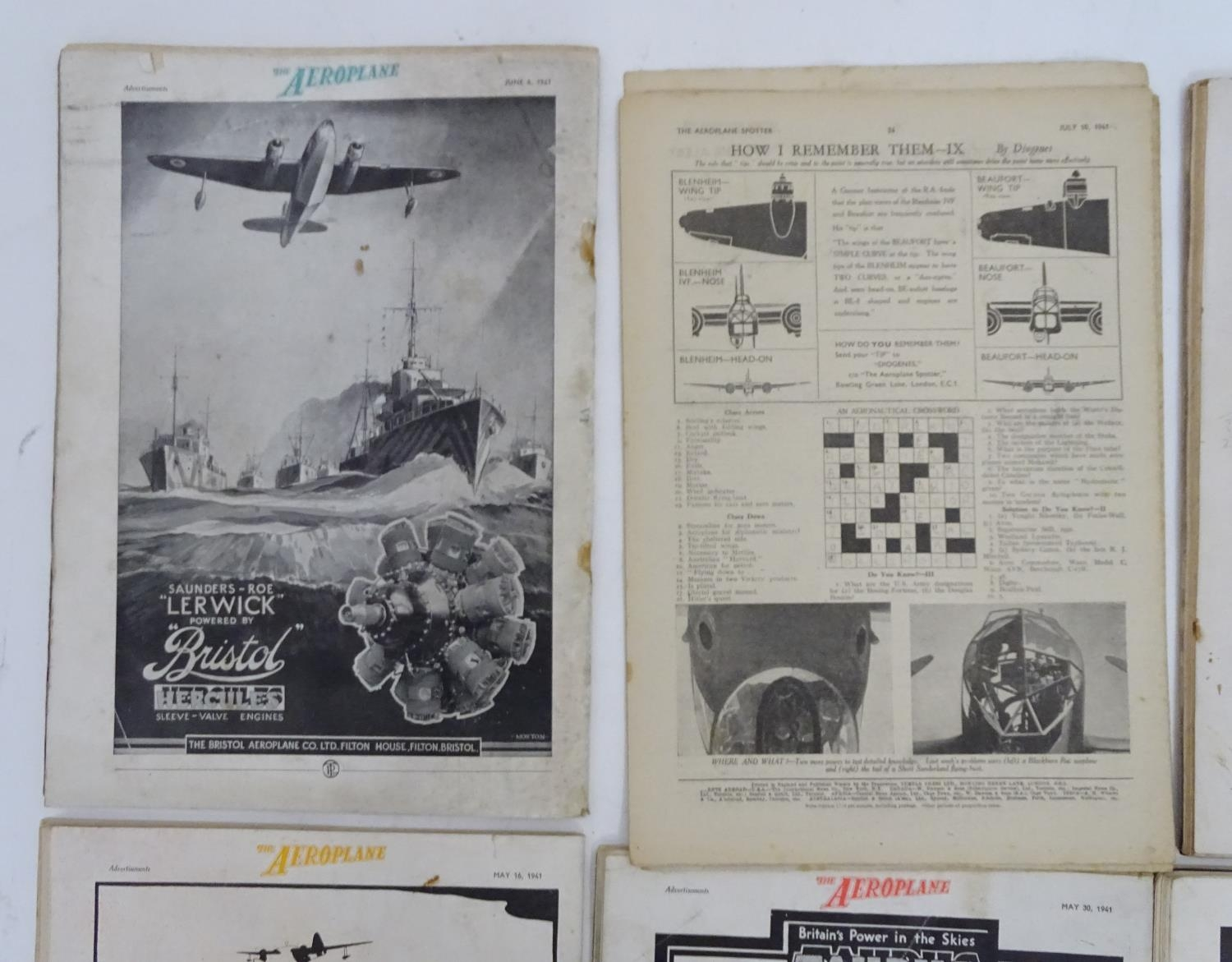 A quantity of 1941 copies of The Aeroplane Spotter magazine and The Aeroplane (8) Please Note - we - Image 8 of 12