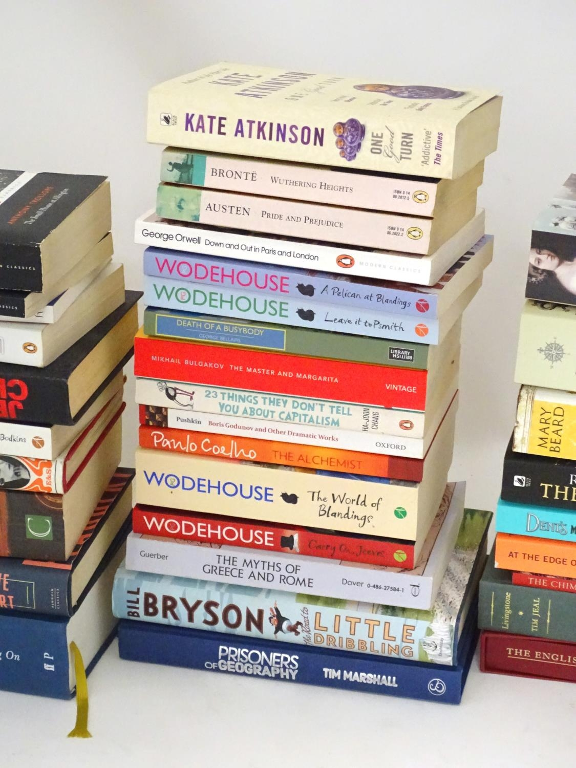 A quantity of books to include titles by Alan Bennett, Jeremy Clarkson, Bill Bryson, Anthony - Image 3 of 6