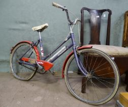 A late 20thC Raleigh Candy child's bike / bicycle Please Note - we do not make reference to the